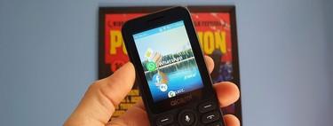 Alcatel 3078 en México. Aquí se explica cómo usar WhatsApp, Facebook, YouTube և Maps con un teléfono con funciones a mediados de 2020.
