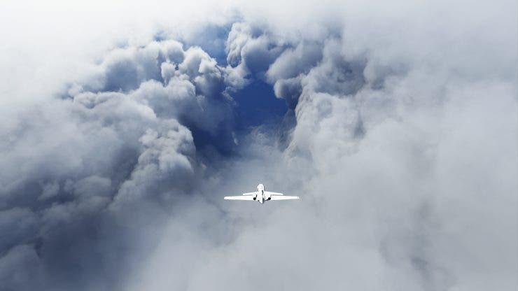 Microsoft Flight Simulator Hurricane Laura