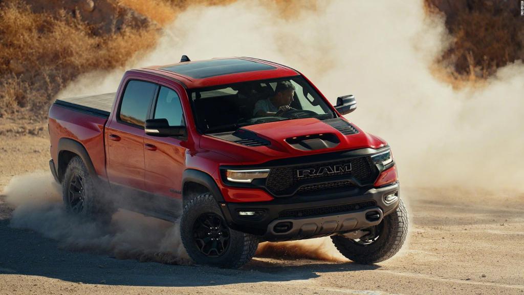 Echa un vistazo a la nueva camioneta Ram 1500 TRX