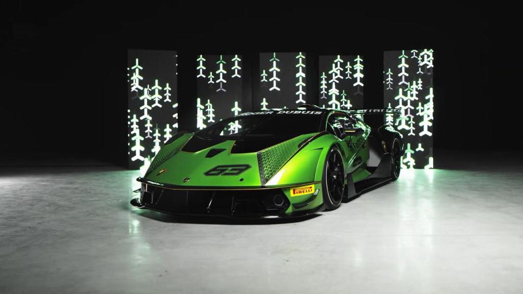 Este es el nuevo superdeportivo de Lamborghini