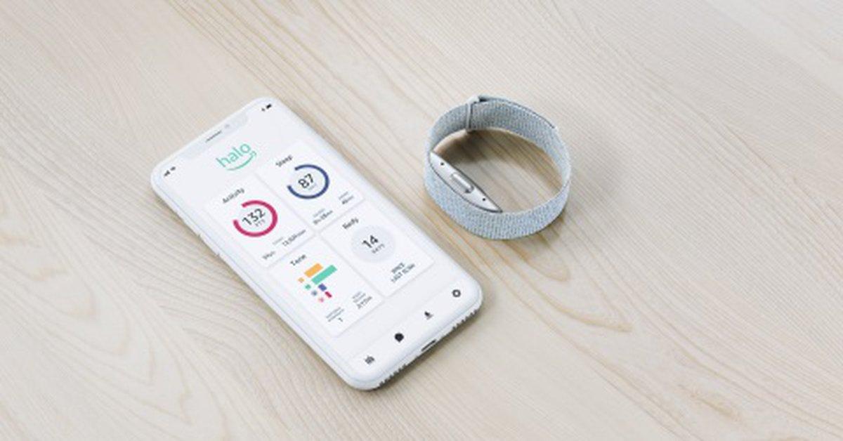 Amazon ha lanzado un programa ծր pulseras que analizan el cuerpo ՝ voz para monitorear la salud