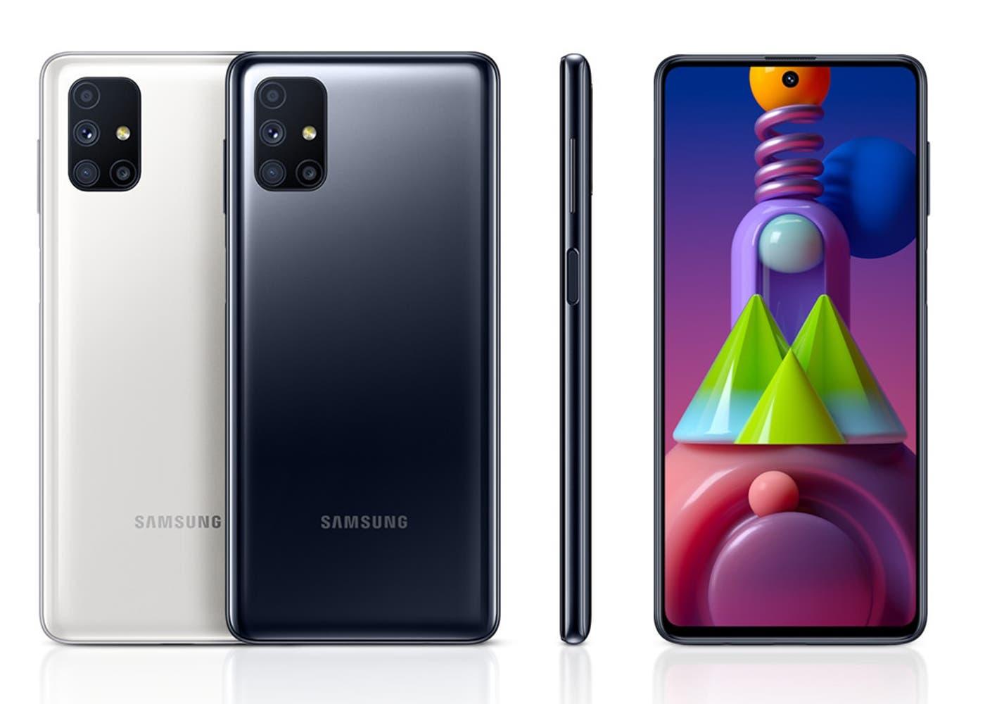 El Galaxy M51 es oficialmente la batería más grande jamás vista en un teléfono móvil Samsung