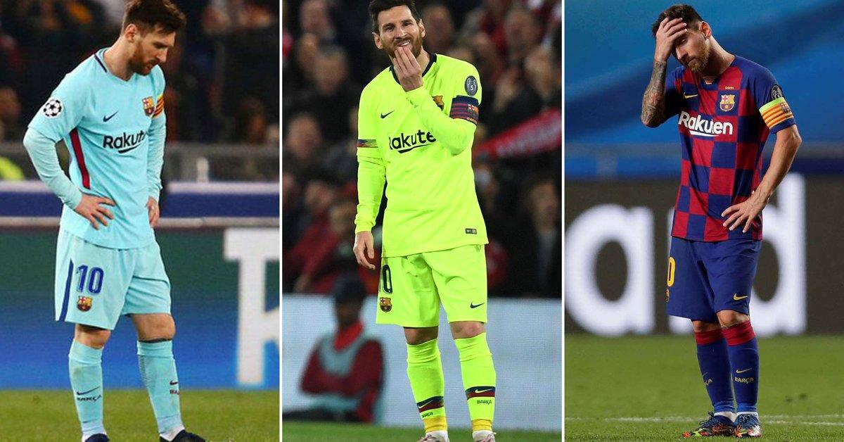 Roma, Liverpool և Baviera en Lisboa.  Tres nocauts para Lionel Messi en el Barcelona