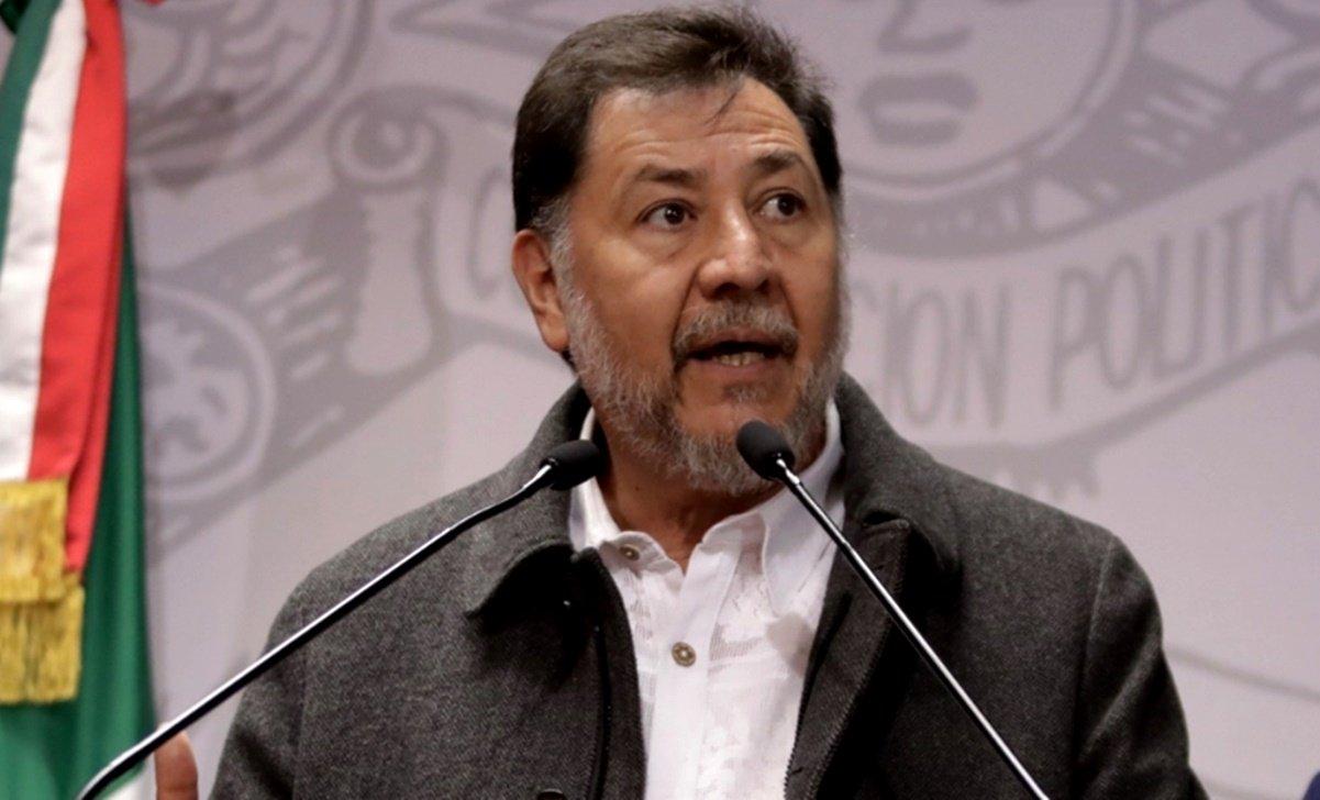 AMLO ya decidió que presida la Cámara el PRI, sostengo que es un error: Fernández Noroña