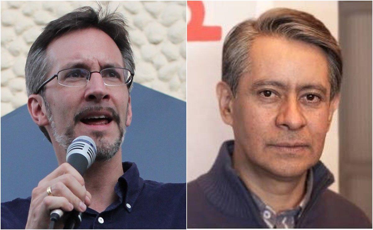 John Ackerman y Jorge Carrasco