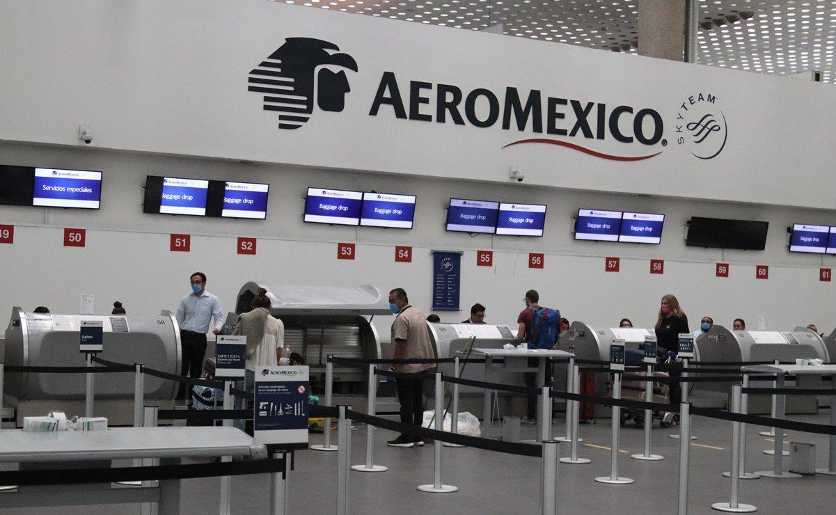 Aeroméxico presenta solicitud de financiamiento por mil millones de dólares