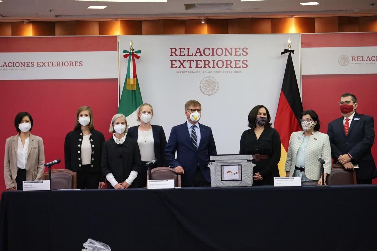 Alemania dona 100.000 pruebas de COVID-19 a México