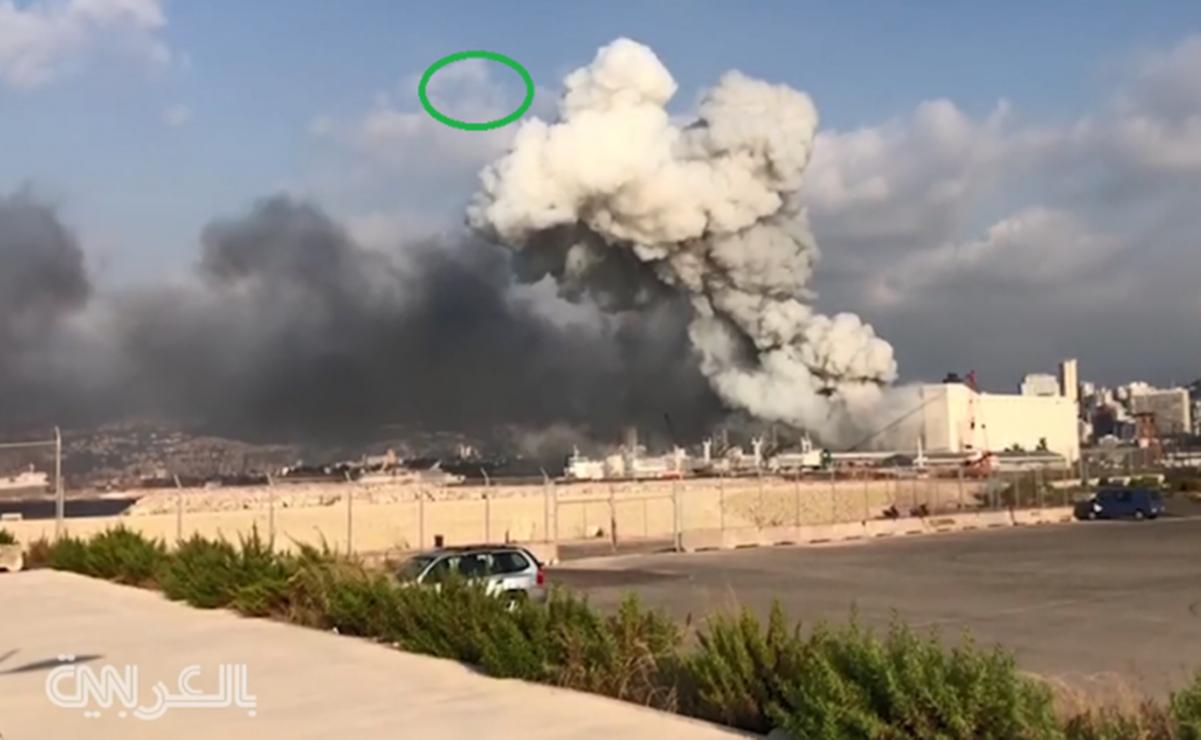Así armaron un cohete falso en Beirut el día de la explosión