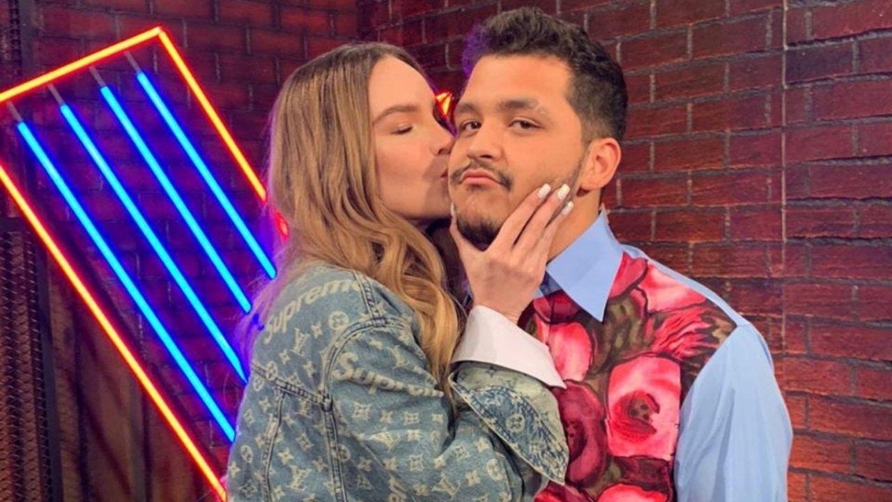 Belinda և Christian Nodal.  La pareja ahora recuerda como և donde fue su primer beso VIDEO