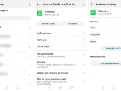 Para que pueda borrar la caché en dispositivos Android.  (Foto: captura de pantalla)