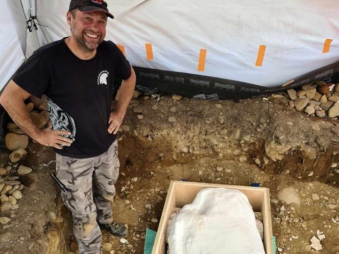 Con un golpe exitoso, descubre un tesoro de la Edad del Bronce