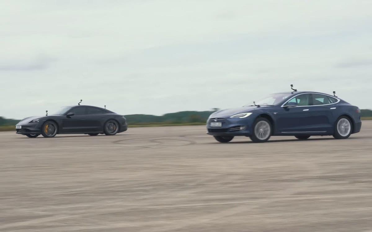 El Tesla Model S ya no es un acelerador increíble.  Así cae ante el Porsche Taycan Turbo S - Curiosidades - híbridos և electricistas