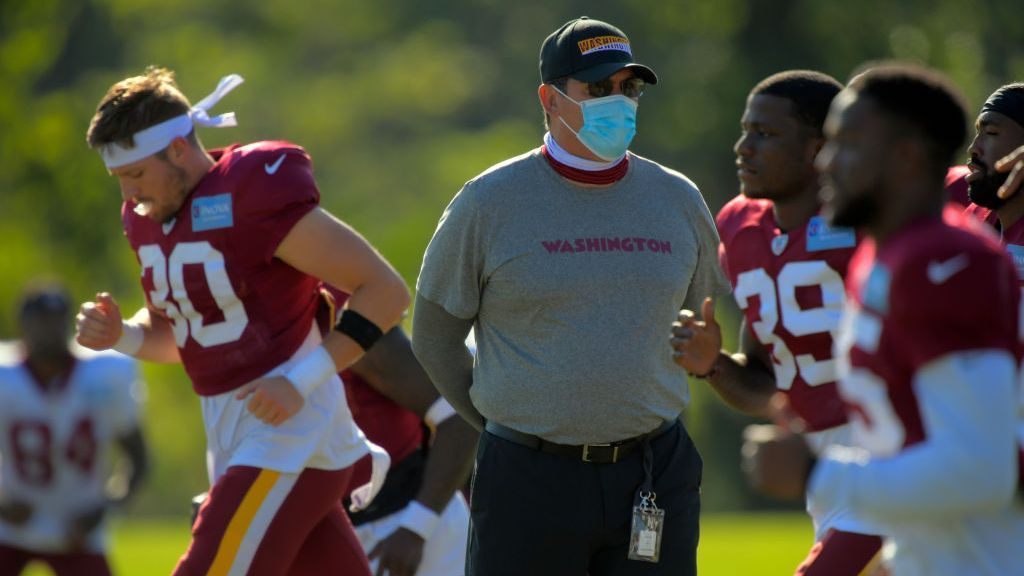 Ron Rivera revela que padece cáncer y afirma que continuará al frente de Washington Football Team