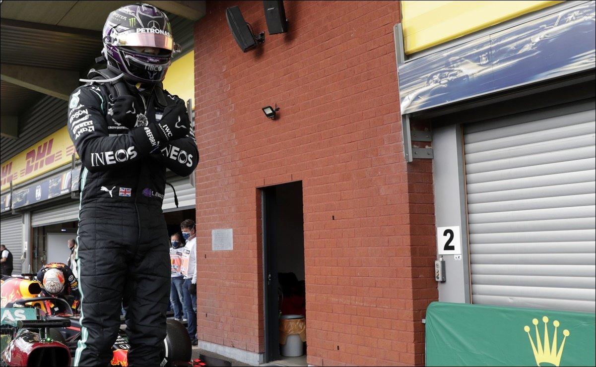 Lewis Hamilton gana el GP de Bélgica y se lo dedica a Chadwick Boseman