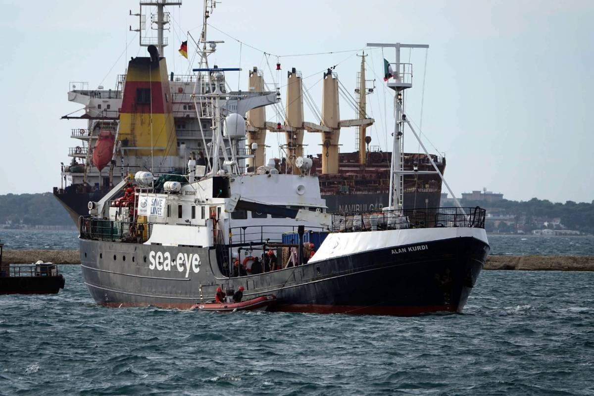 """Europa - Sea-Eye acude a los tribunales en Italia para que """"Alan Kurd"""" pueda rescatar en el Mediterráneo"""