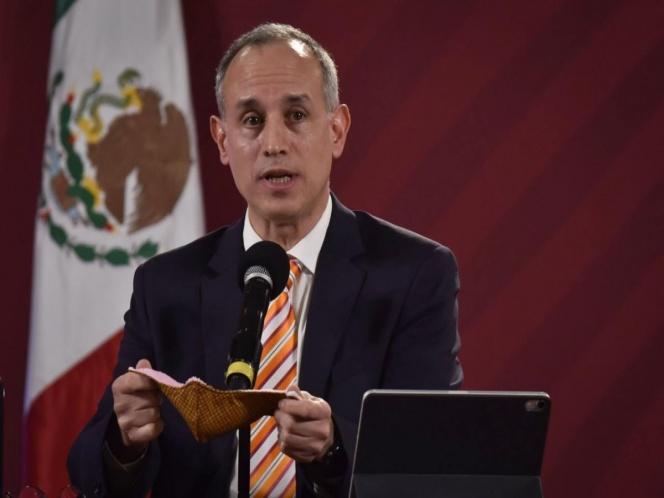 Forzar el uso de máscaras faciales viola los derechos humanos.  López-Gatell:
