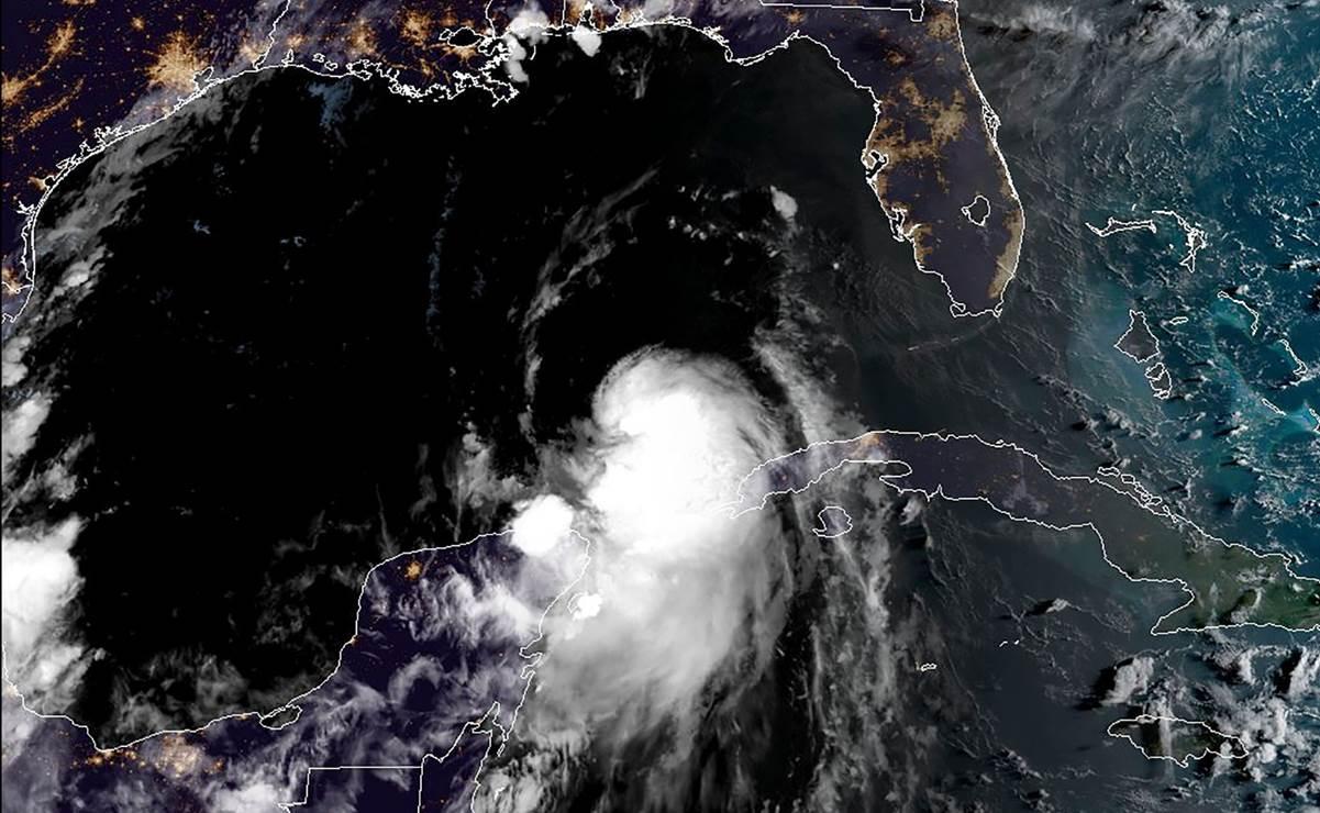 """Laura"" ya es huracán en el Golfo de México"