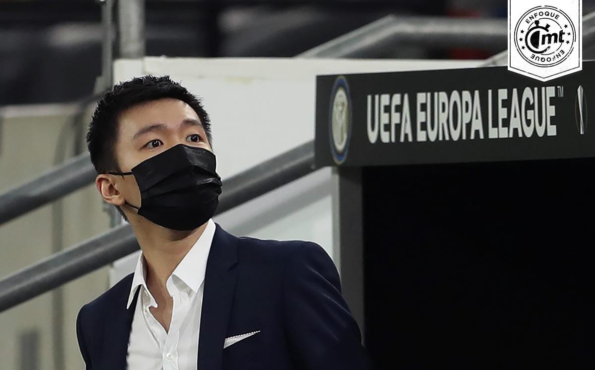 """Liga Europea:  El """"Inter"""" se reubica gracias al chino de 29 años"""