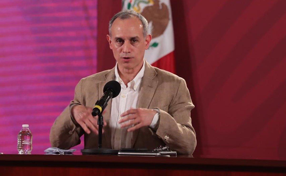 """Población enferma y corrupción, factores para rebasar escenario """"catastrófico"""": López-Gatell"""