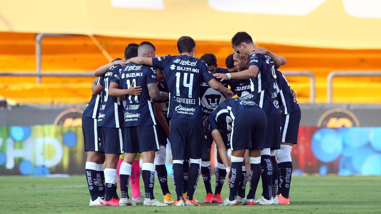 Pumas recupera a cuatro jugadores para enfrentar a Xolos
