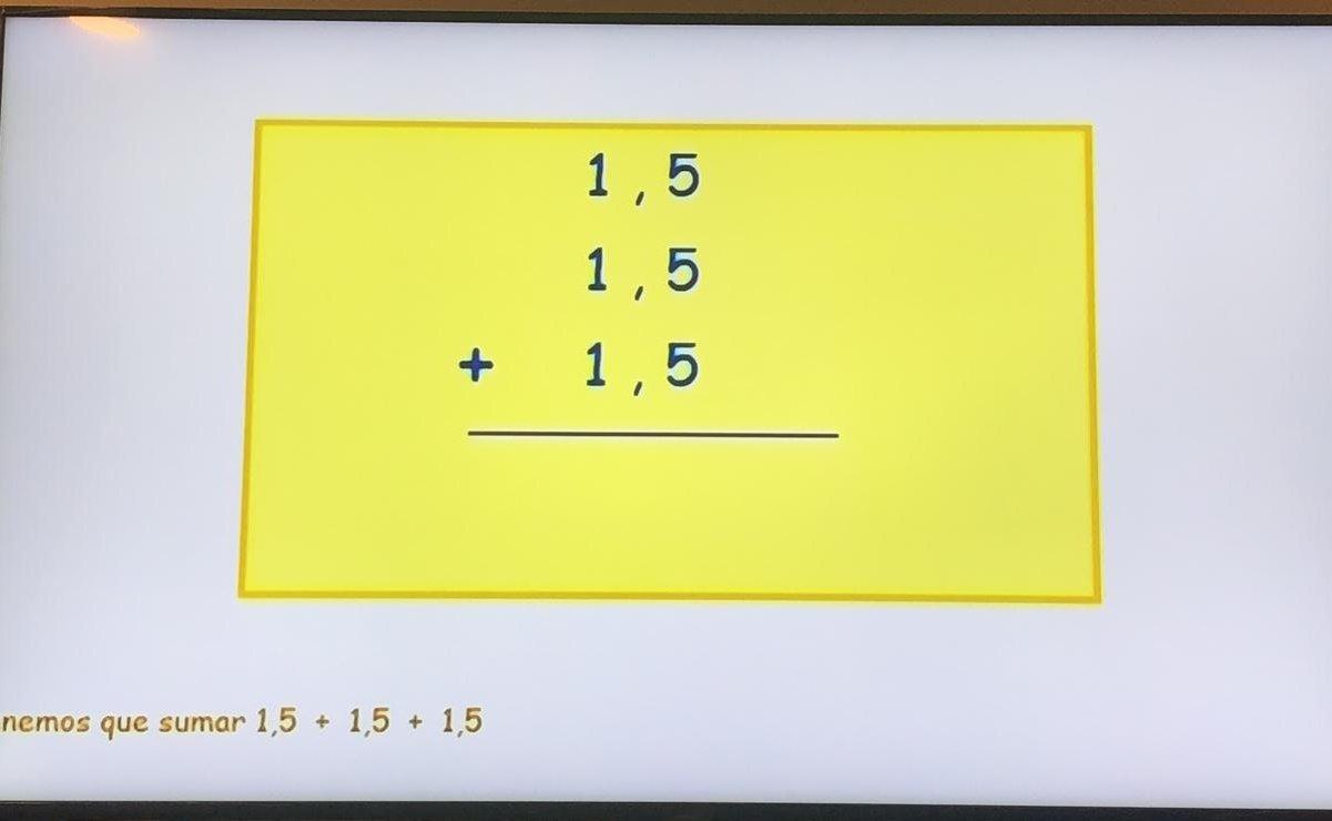 SEP arranca clases por televisión con errores en matemáticas