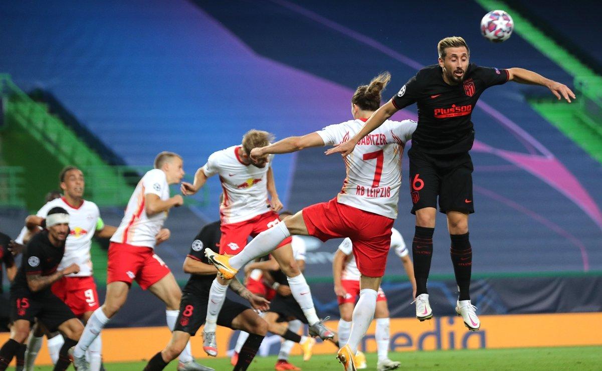 Leipzig vs Atlético de Madrid, resultado y estadísticas