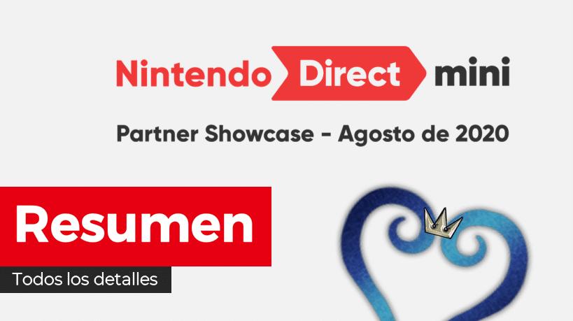 Resumen completo y diferido en español del Nintendo Direct Mini: Partner Showcase de hoy