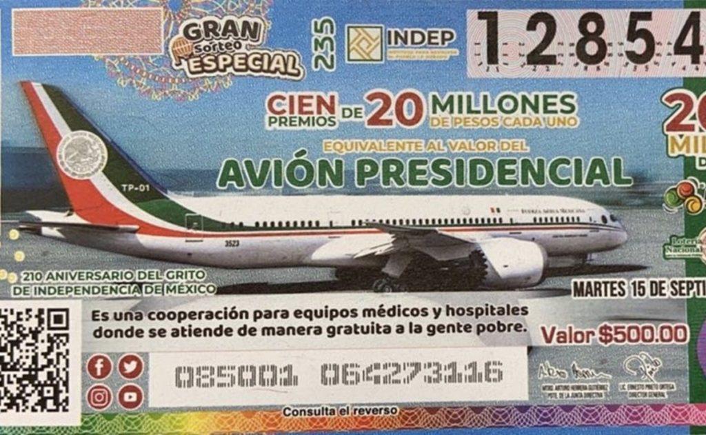Los primeros ganadores de la rifa del avión presidencial