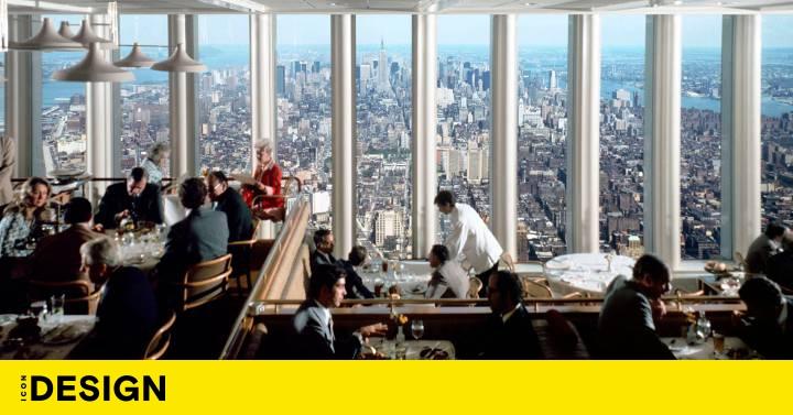 """Windows en el mundo. Este fue """"el restaurante más magnífico del mundo"""" en las Torres Gemelas Diseño ICON"""
