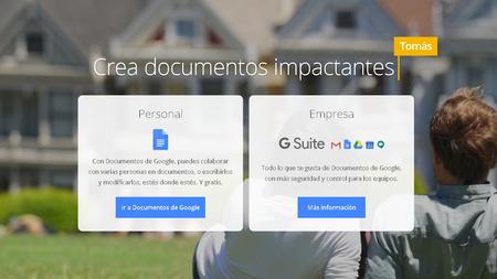 Oficina alternativa de Google Docs