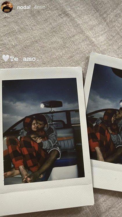 Pareja es muy feliz juntos (Foto: Instagram @ nodal)