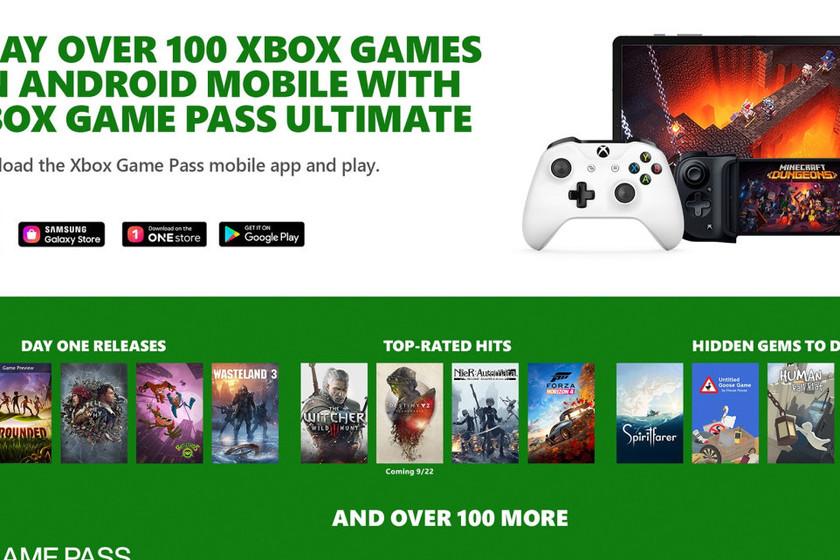 Estos son más de 150 juegos que formarán parte del juego en la nube xCloud con Xbox Game Pass Ultimate