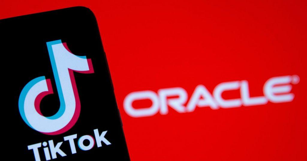 Oracle para acceder a la fuente de TikTok si ByteDance finaliza