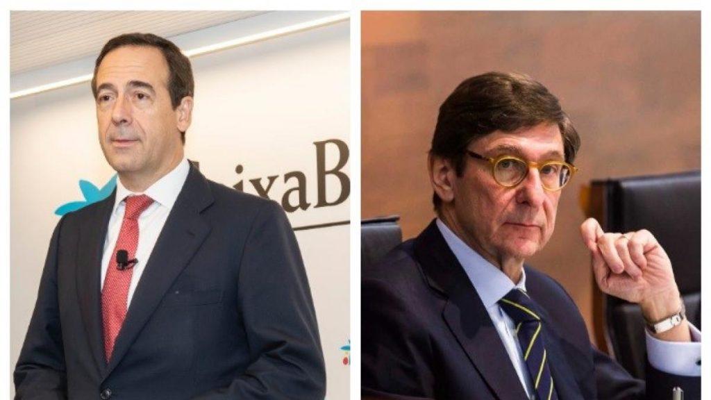 Fitch mantiene los 'ratings' de Bankia և CaixaBank, descartando una posible fusión