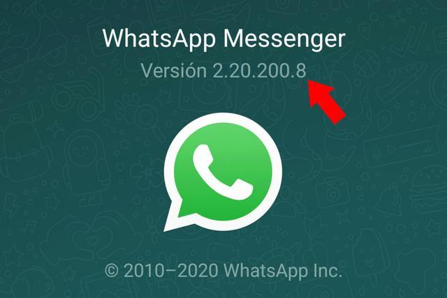 Este número es la versión de la aplicación que tienes instalada en tu teléfono móvil. (Foto del mago)