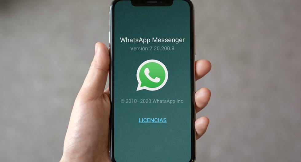Tecnología. WhatsApp  : Para que pueda averiguar si tiene la última versión