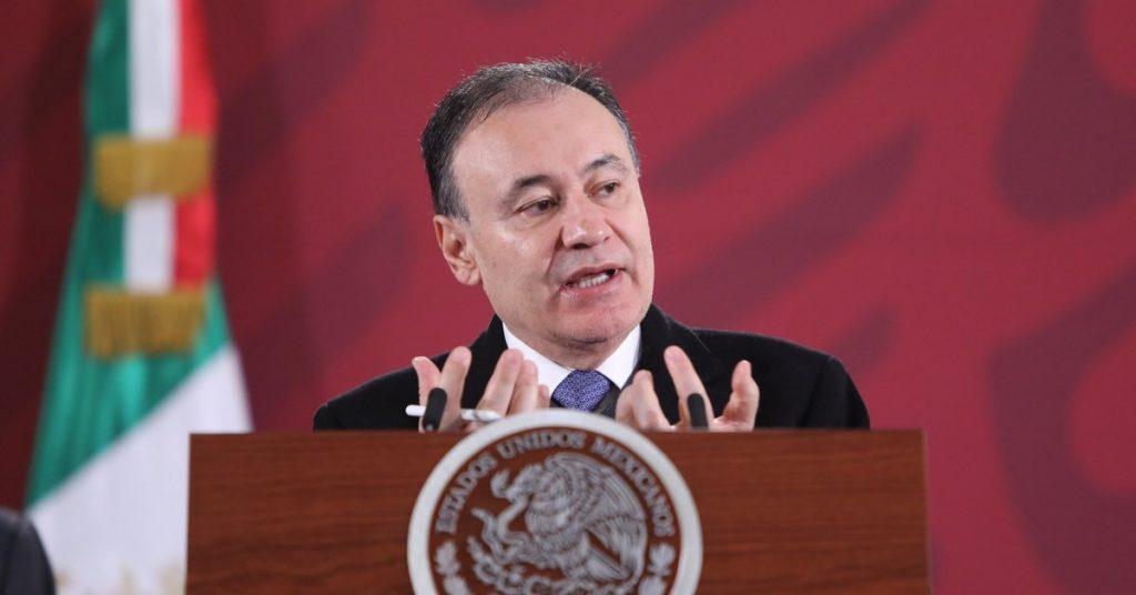 """""""Guanajuato sigue siendo motivo de preocupación"""". Alfonso Durazo informa que los homicidios en México han bajado 0.46%"""