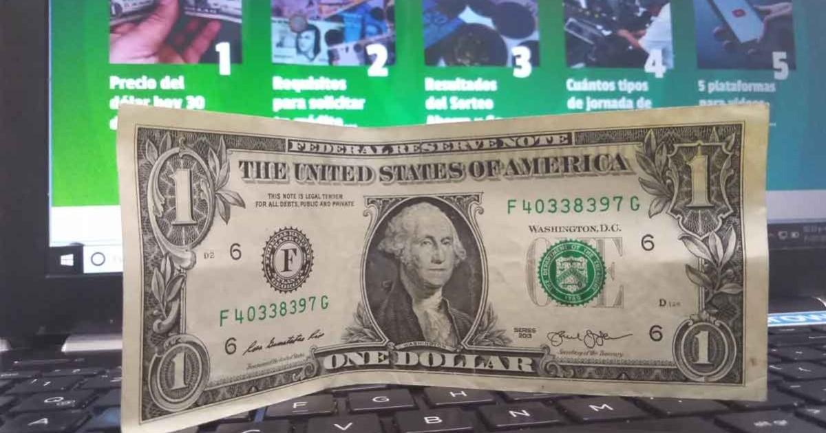 El precio del dólar hoy, martes, 2020 El 1 de septiembre, el tipo de cambio