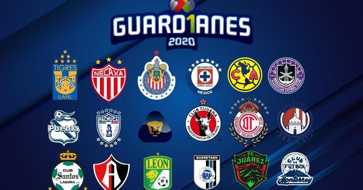 Liga MX. Horario General 7 ° día de Apertura 2020